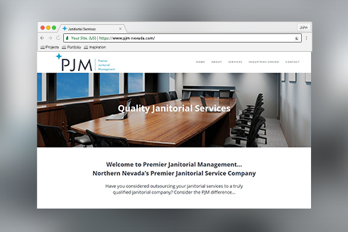 PJM Browser Mockup