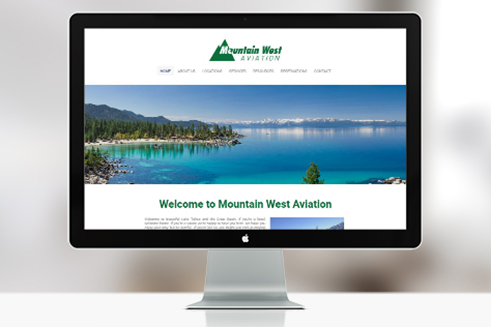 mountain west aviation lake tahoe desktop screen