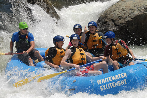 whitewater custom wordpress design