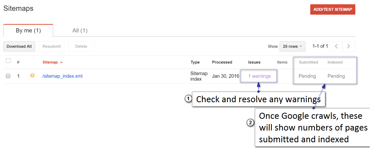 how to submit an xml sitemap to google search console