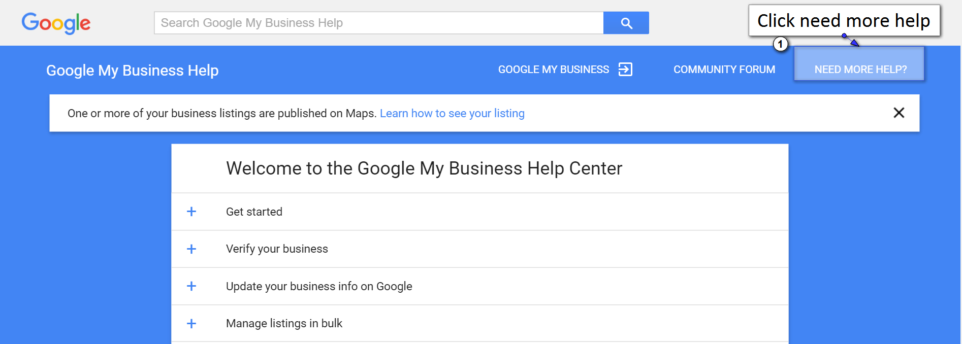 Need more help for calling Google suppot
