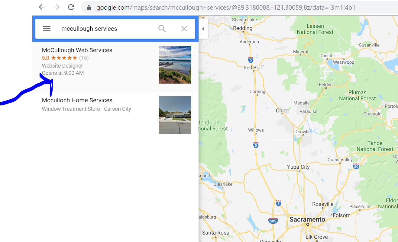 google my business maps listing multiple