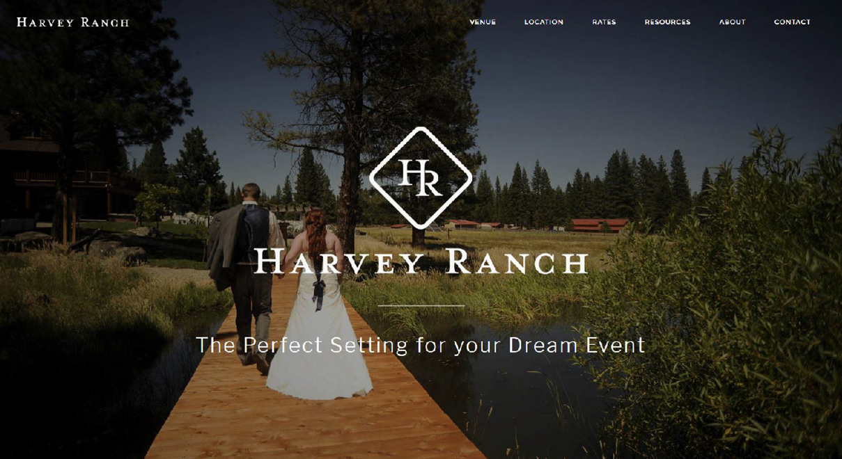 harvey ranch in calpine website homepage