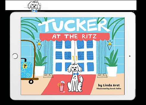 Tucker ebook website design